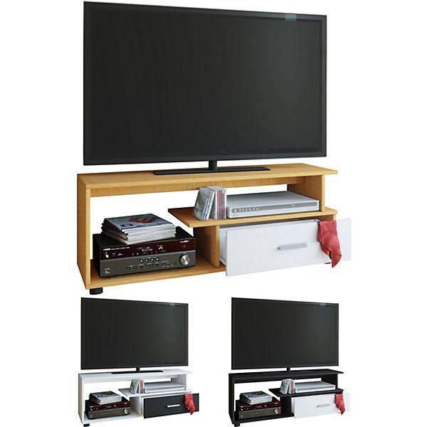 Tv Lowboard Rack Konsole Fernsehtisch Mobel Tv Bank Tisch Holz Schrank Rimini Weiss Vcm Yomonda