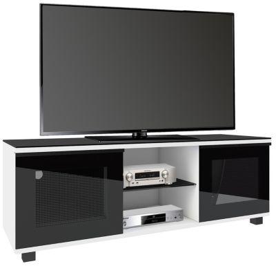 VCM Premium TV-Lowboard Schrank Fernsehtisch rollbar TV Schrank Holz