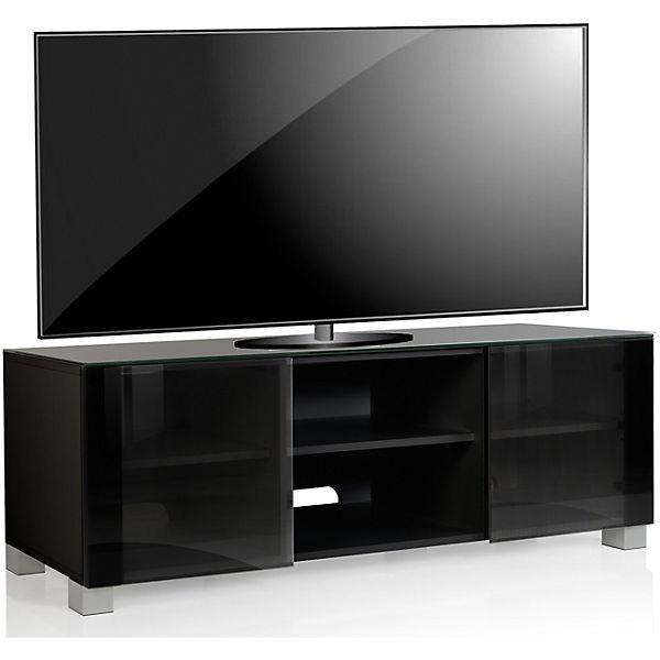 Premium Tv Lowboard Schrank Fernsehtisch Rollbar Tv Schrank Holz Luxala Schwarz Vcm Yomonda