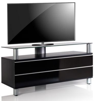 VCM TV Lowboard Schrank Tisch Rack Fernsehschrank Fernsehtisch Konsole Möbel Dasano schwarz