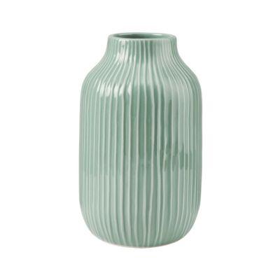 BUTLERS HANAMI Vase 23cm pastellgrün | Dekoration > Vasen > Tischvasen | Butlers