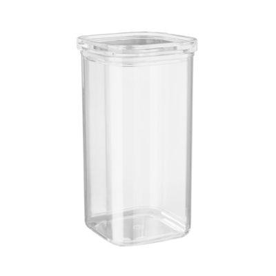 BUTLERS CLEARANCE Vorratsdose quadratisch 1700ml, transparent | Küche und Esszimmer > Aufbewahrung > Vorratsdosen | Butlers