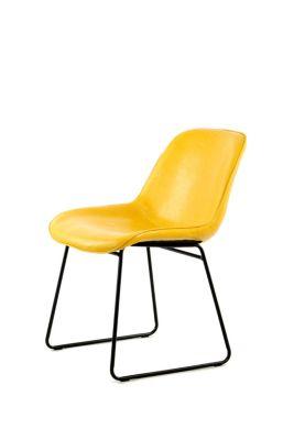 Stuhl Cora 110 2er Set Gelb, gelb, Kayoom