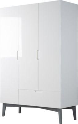 Roba Kleiderschrank 3-türig weiß