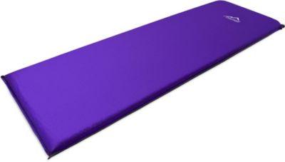 normani® Selbstaufblasende Luftmatratze InFlat VII Isomatten violett | Baumarkt > Camping und Zubehör > Luftmatratzen und Isomatten | normani®