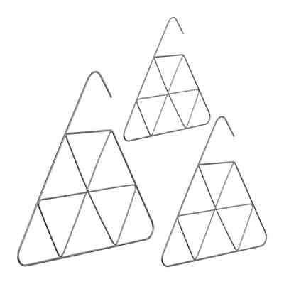 3x Schalbügel kupfer Tuchbügel Gürtelbügel Krawattenbügel Drahtbügel Accessoires