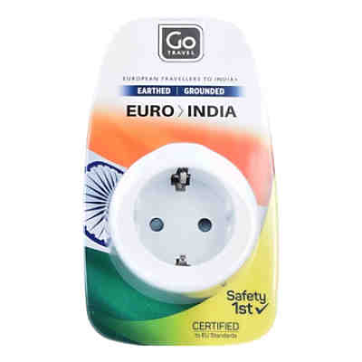EU-India Adapter 5,5 cm Reiseadapter