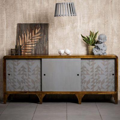 Native Home Sideboard Holz mehrfarbig