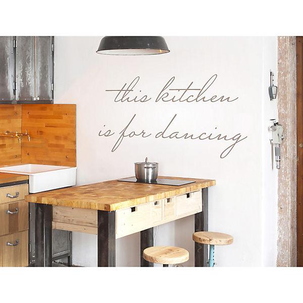 Wandtattoo This Kitchen Is For Dancing Wandtattoos Schwarz Dekodino Yomonda