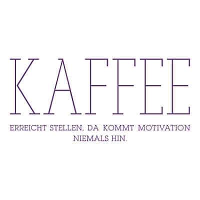 Wandtattoo Kaffee Erreicht Stellen Motivation Wandtattoos Schwarz Dekodino Yomonda