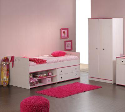 PARISOT Jugendbett mit Schrank 2-teilig