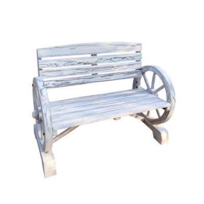 HTI-Line Gartenbank Sommerset weiß