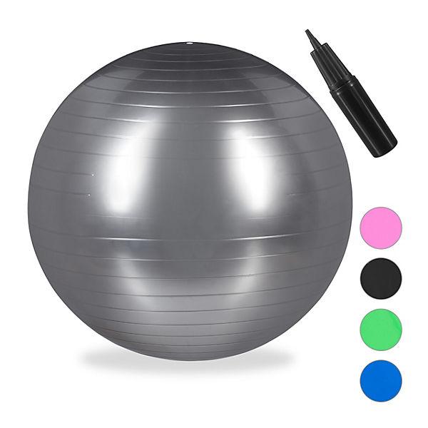 1 x Gymnastikball 85 cm Bürositzball Büroball PVC Pilatesball Sitzball Yogaball