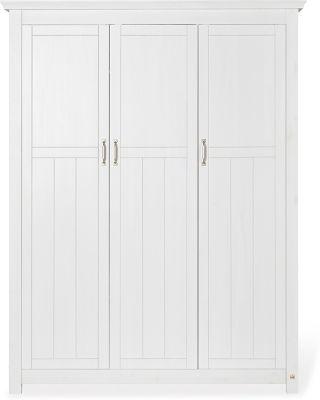 Pinolino Kleiderschrank 'Cleo' groß weiß/beige