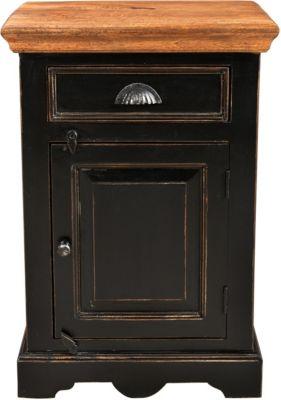 SIT Nachtkommode, 50x40x60cm schwarz