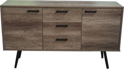 SIT Sideboard, 150x39,5x84cm braun