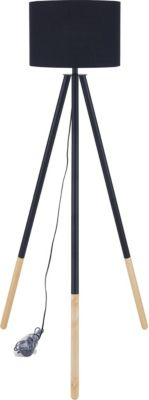SIT Dreibein Stehleuchte, 65x65x154cm schwarz