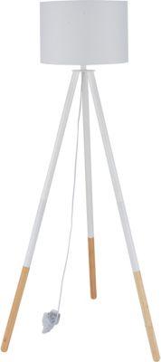SIT Dreibein Stehleuchte, 65x65x154cm weiß