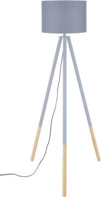 SIT Dreibein Stehleuchte, 65x65x154cm grau