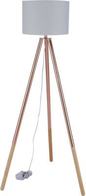 SIT Dreibein Stehleuchte, 65x65x154cm kupfer