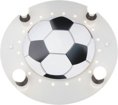 Elobra Deckenleuchte Fußball, silber