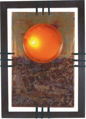 Näve Wandleuchte, H80xB60cm orange