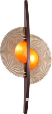 Näve Wandleuchte, H130xB68cm beige/orange