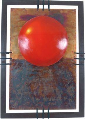 Näve Wandleuchte, H110xB79cm rot