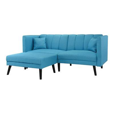 HTI-Line Ecksofa Matisse blau