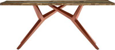 SIT Esstisch braun-kombi Gr. 85 x 160