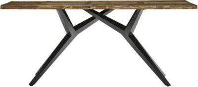 SIT Esstisch braun/schwarz Gr. 85 x 160