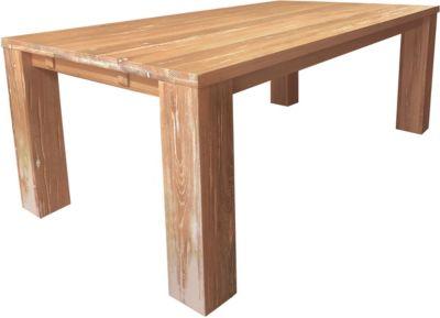 SIT Massivholz Esstisch, 180x100x77cm braun Gr. 100 x 180