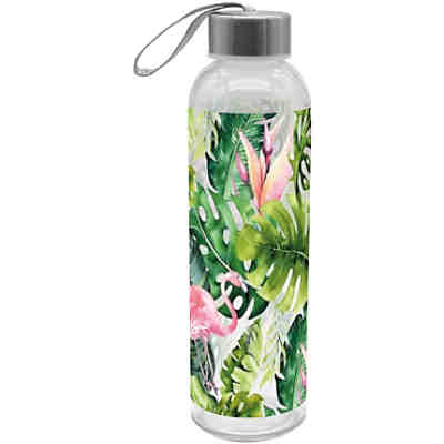 "Glas Trinkflasche ""Tropic"", 500ml"