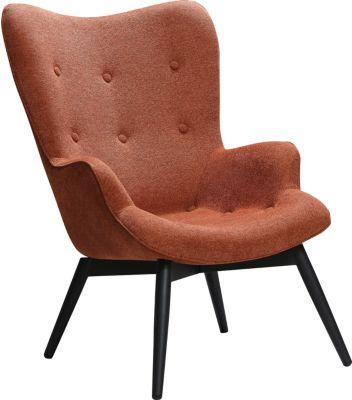 SalesFever Sessel, Strukturstoff, B80xT99xH92 cm kupfer