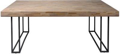SalesFever Akazie Massivholz Esstisch, in versch. Größen natur Gr. 100 x 180