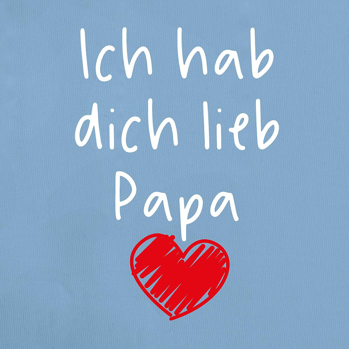 Vatertagsgeschenk Tochter & Sohn Baby - Ich hab dich lieb