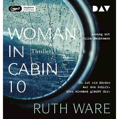 Woman in Cabin 10, 1 MP3-CD