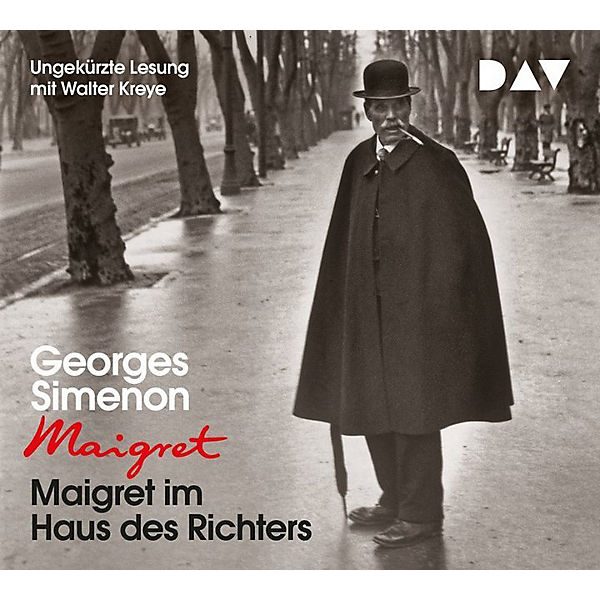 Maigret im Haus des Richters, 4 Audio-CDs