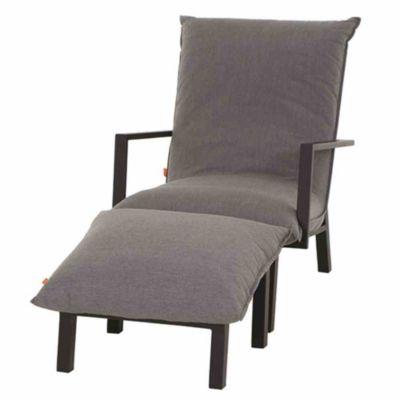 Siena Garden Lounge-Set Rockford matt anthrazit / grau Gartenmöbelset