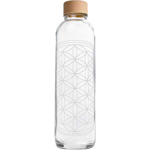 "Trinkflasche ""Flower of Life"", 0,7l"