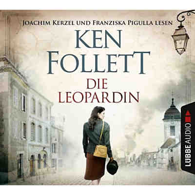 Die Leopardin, 6 Audio-CDs