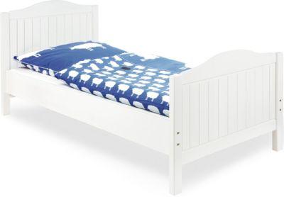 Pinolino Jugendbett NINA, massiv/Weiß lasiert, 90 x 200 cm weiß