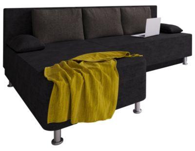 VCM Ecksofa Bettsofa Schlafsofa Couch mit Schlaffunktion Schlafcouch