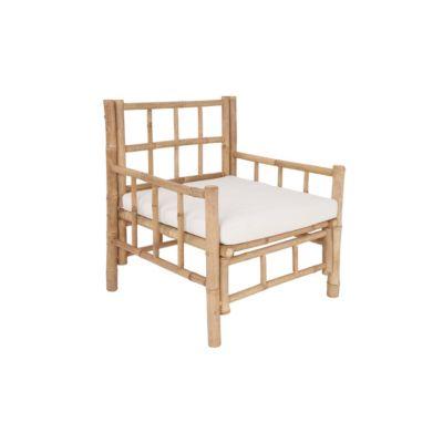 BUTLERS LOMBOK Sessel mit Sitzkissen Sessel natur