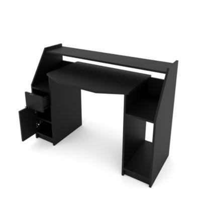 Computertisch JOEL PC-Tisch Schwarz schwarz