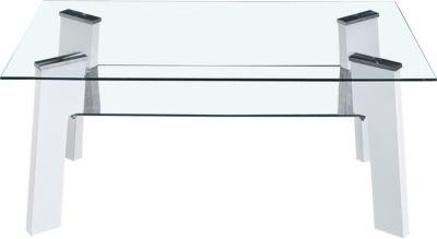 Möbilia Couchtisch, B110xT60xH42cm weiß Gr. 110 x 90