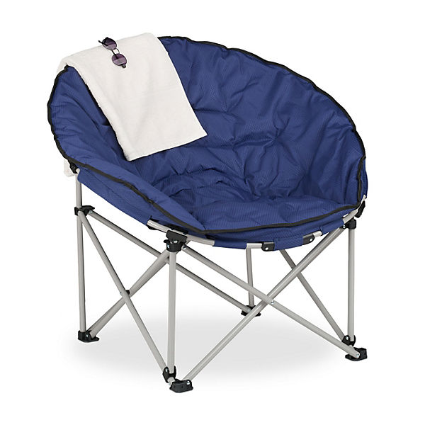 Moon Chair blau