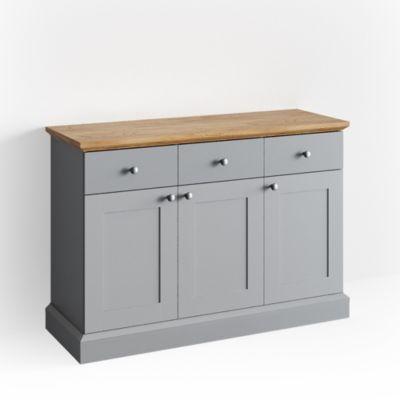 Sideboard Camebridge Grau Eiche grau