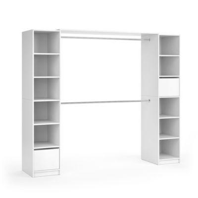 Kleiderschrank Visit XL Weiß weiß