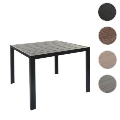 HWC Mendler Gartentisch schwarz